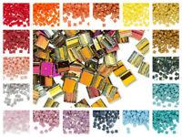 10 grams Miyuki  TILA glass seed beads 5mm Square Beads