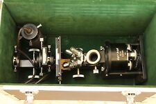 Vintage  UNITRON inverted microscope, model BU-13 with some  parts missing