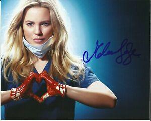MELISSA GEORGE SIGNED SEXY HEARTBEAT PHOTO UACC REG 242 (1)