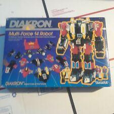 1983 Takara Diakron Diaclone Multi-force 14 Robot combiner