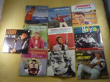 Lot de 10 CD JOHNNY HALLYDAY Replica des EP , neufs Scellés