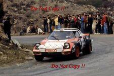 Attilio Bettega LANCIA STRATOS HF TOUR DE CORSE RALLY 1978 fotografia 1