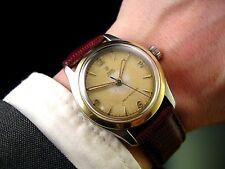 Rare Bi-Metal 1955 ROLEX TUDOR HONEYCOMB DIAL Ref 7803 Vintage MIDSIZE Watch