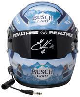 Kevin Harvick Signed Blue Busch Light Full Size Nascar Replica Helmet BAS