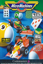 # Micro Machines-Sega Mega Drive/MD gioco-TOP #