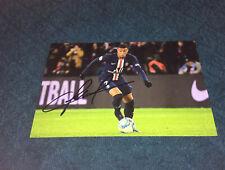 Kylian Mbappé M Bappe Photo Dedicace Autograph Football France Champions PSG