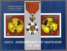 Yemen 1969 Napoleon Bonoparte S/S imperf. MNH** Mi.:Bl.107 20,00Eur