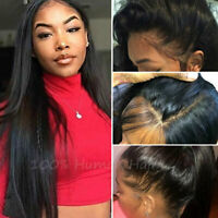 Silk Top Full Lace Wig Straight Remy Indian Human Hair Lace Front Wig Women ego5