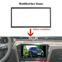 Universal Double 2 DIN Frame Trim for Car Stereo Radio Fascia Panel DVD Player