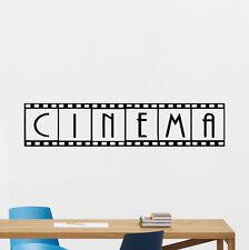 Cinema Home Theater Wall Decal Film Strip Video Movie Vinyl Sticker Decor 175crt