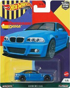 Hot Wheels Car Culture Deutschland Design BMW M3 E46