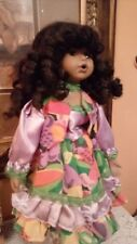 African American Porcelain Doll