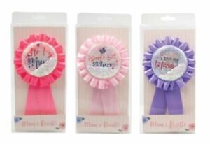 MOTHERS DAY ROSETTE - Mothers Day Best Mum In The World Rosette Badge