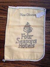 Vintage Original The Four Seasons Hotel Cloth, Mitt Shoe Cleaner