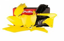 SUZUKI RM85 02-17 OEM 16 POLISPORT PLASTIC KIT YELLOW BLACK