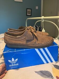 Clarks Weaver Leather Brown Size 11