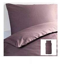 IKEA Gäspa Duvet Quilt Cover with Pillowcase Twin Bedding Set Purple Lilac NEW
