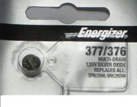 One Pc Fresh ENERGIZER Silver Oxide WATCH Battery 1.55v CR376 CR377 CR 376 377