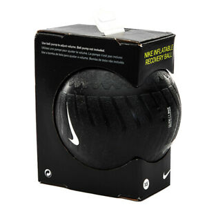 """Nike 3.5"""" Inflatable Recovery Massage Ball Black AC9752-010"""