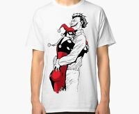 Joker and Harley Quinn Men Women T-shirt  Suicide Squad DC Comics Tee