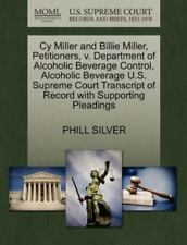 Cy Miller And Billie Miller, Petitioners, V. Department Of Alcoholic Beverage...