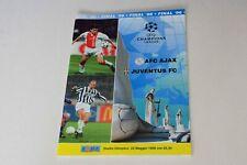 More details for champions league final (1996) ajax v juventus programme (excellent)