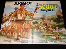 SCOUT TOUJOURS ! g jugnot  affiche cinema