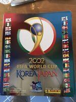 ALBUM FIFA WORLD CUP KOREA & JAPAN 2002 - VUOTO/EMPTY - GOOD Leggi Descrizione