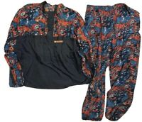 RARE 90s Vintage Chicago Bears Windbreaker Set Jacket Pants Size XL/2XL Apex One