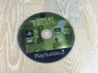 The Great Escape (Sony PlayStation 2, 2003) (PS2) *DISC ONLY*