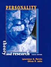 Very Good, Personality: Theory and Research (8th Edition), Pervin, Lawrence A.,