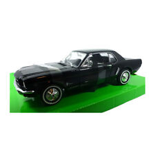 Welly 22451 Ford Mustang Coupe 1/2 schwarz 1964 Maßstab 1:24 Modellauto NEU! °