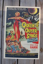 Queen of Outer Space Lobby Card Movie Poster Zsa Zsa Gabor