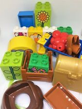 LEGO DUPLO Zoo Tiere Zubehör Einzelteile Ersatzteile 21-teiliges Set NEUWARE