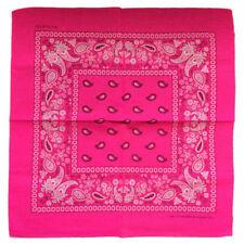 Écharpes et châles bandanas rose pour femme