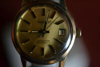 Tissot & Fils Seastar Vintage Damen Automatic Uhr 10 Microns vergoldet