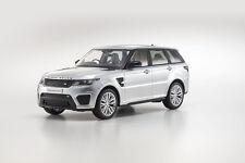 Kyosho Range Rover Sport SVR Indus Silver 1/18