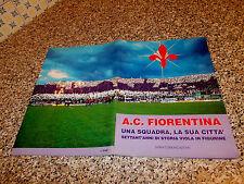 ALBUM CALCIATORI A.C.FIORENTINA SVIMA 1995 COMPLETO EDICOLA+CEDOLA E CARTOLINA