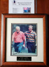 Arnold Palmer Jack Nicklaus BAS Beckett Loa Signed Framed 8x10 Photo Autograph