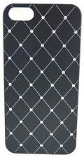 Handyschale Schutzhülle Hartschale Aluminium Strass iPhone 5 / 5S / SE modisch