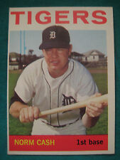 1964 Topps #425-Norm Cash-Detroit  00004000 Tigers