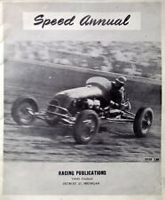Racing NASCAR Mighty Midget Speed Annual Stock Car Hot-Rods Pictures Stats 1949