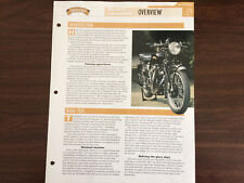 VINCENT BLACK SHADOW The Genuine Overview Essential Superbikes File