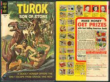 1968 U.S. GOLD KEY TUROK SON OF STONE Survive Alone No. 61 Comics