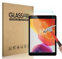 [2-Pack] Tempered GLASS Screen Protector for Apple iPad 7th Generation 2019 10.2