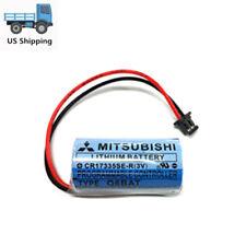 CR17335SE-R/3V Q6BAT Battery PLC MITSUBISH 1800mAh With Plug Q02CPU Q12HCPU
