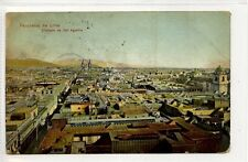 (Ga2974-463) Panorama de Lima, Tomado de San Agustin, PERU 1911 Used G-VG