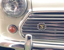 Speedwell Enamel Grille Badge (Classic Mini Cooper VW Camper VW Beetle Formula)