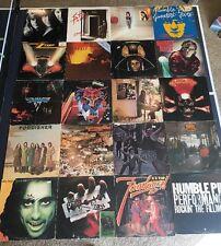 20 Classic Hard Rock Vinyl LP Lot Pink Floyd Doors Sabbath Judas Priest ZZ Top