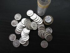 Uncirculated Roll (50) of 1964-D Roosevelt Silver Dimes